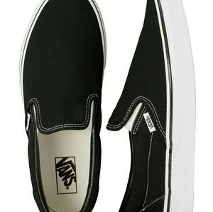 Vans Classic Black White Sneakers Tennis Shoes